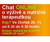 Chat o výživě s nutriční terapeutkou ONLINE