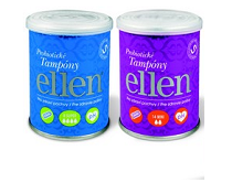 Soutěž o 6 balení s probiotickými tampóny a krémem ellen®