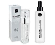 Soutěž o vlasovou regeneraci Keratin Exclusive a pleťové sérum Hyaluron Exclusive