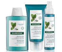 Vyhrajte novou řadu přípravků Klorane s mátou vodní pro vlasy vystavené znečištěnému ovzduší!