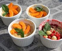 Meruňkový dezert