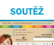 Soutěž o vstupenky na Festival Evolution