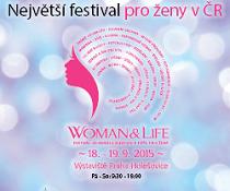 Soutěž o 10 vstupenek na Festival Woman&Life