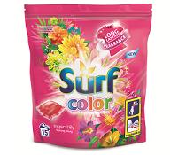 Soutěž o prací gely Surf Tropical Lily & Ylang Ylang