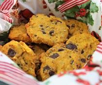 Vánoční sušenky z dýně Hokaido