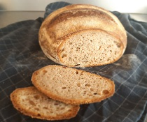 Upečte si domácí  chleba z již hotového kvásku - recept