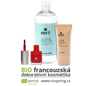Soutěž o 3x balíček BIO francouzské dekorativní kosmetiky