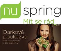 Soutěž o poukázky na nákup kosmetiky v NuSpring