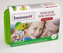 Získejte preparát Immun44 60kapslí spolu s dárky ve speciálním balení Immun44 BOX